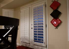 Riverton Utah French Door Shutter