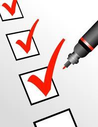 Utah Shutter Company Checklist