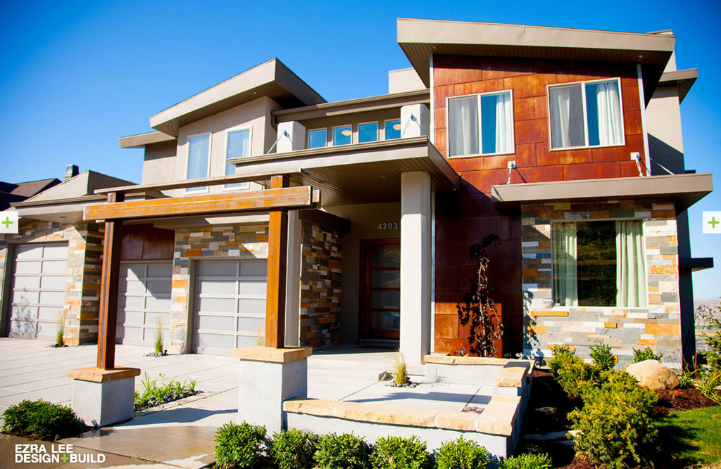 List of custom home builders in utah utah shutters blog - What is a contemporary home ...