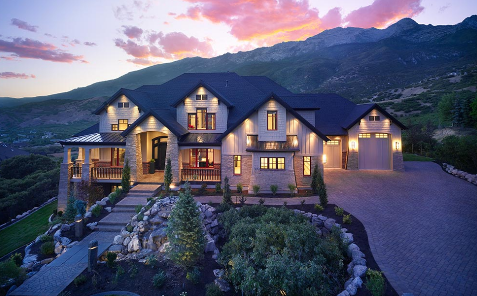List of custom home builders in utah utah shutters blog for Custom dream house
