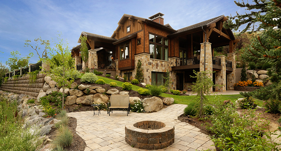 wright custom home
