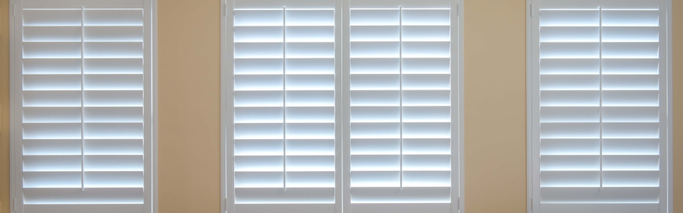 White Shutters Close Up