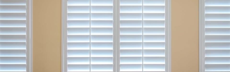 Custom Bedroom Window Shutters