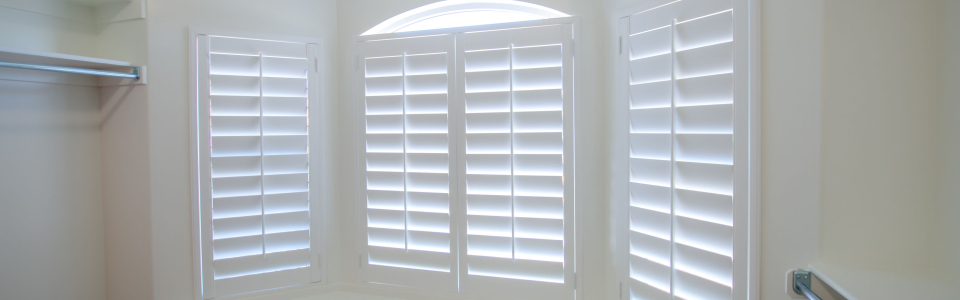Closet Window Shutters - Side