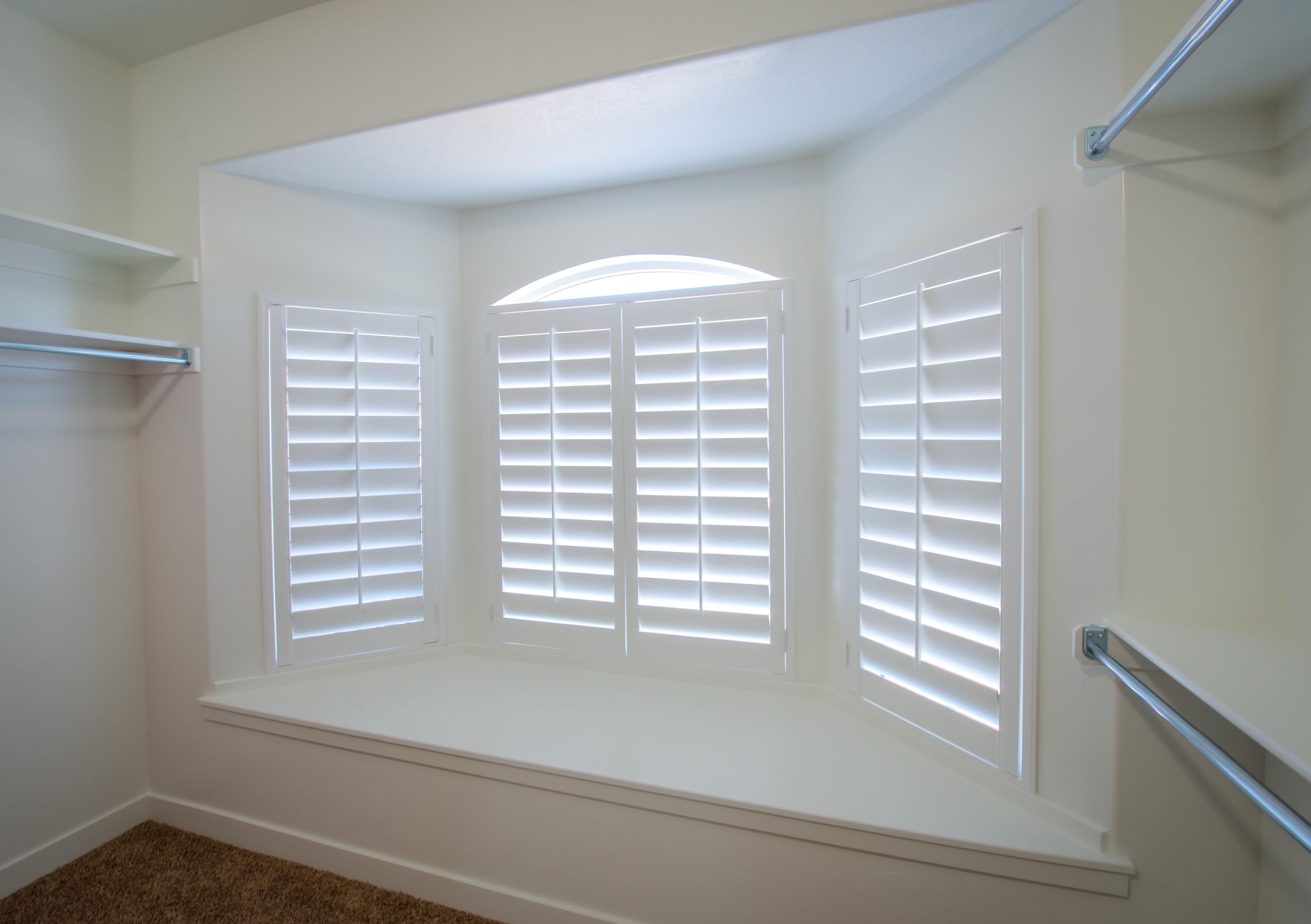 Closet Window Shutters - Side