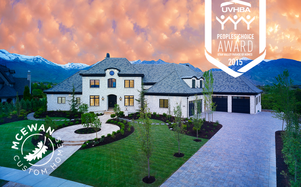 mcewan 2015 parade of homes winner