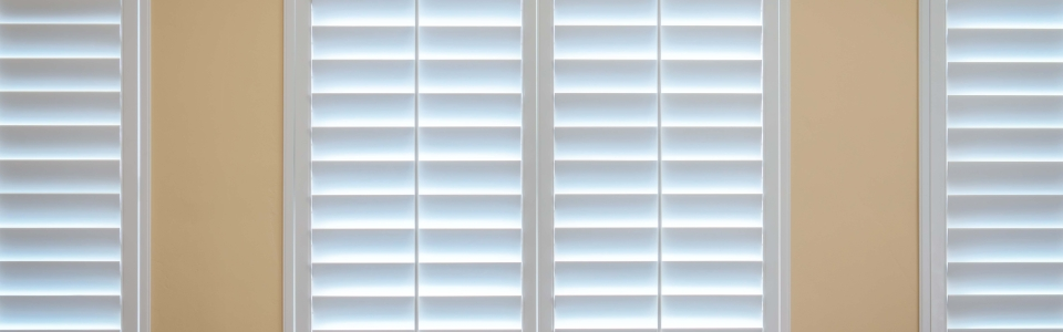 Custom Bedroom Window Shutters