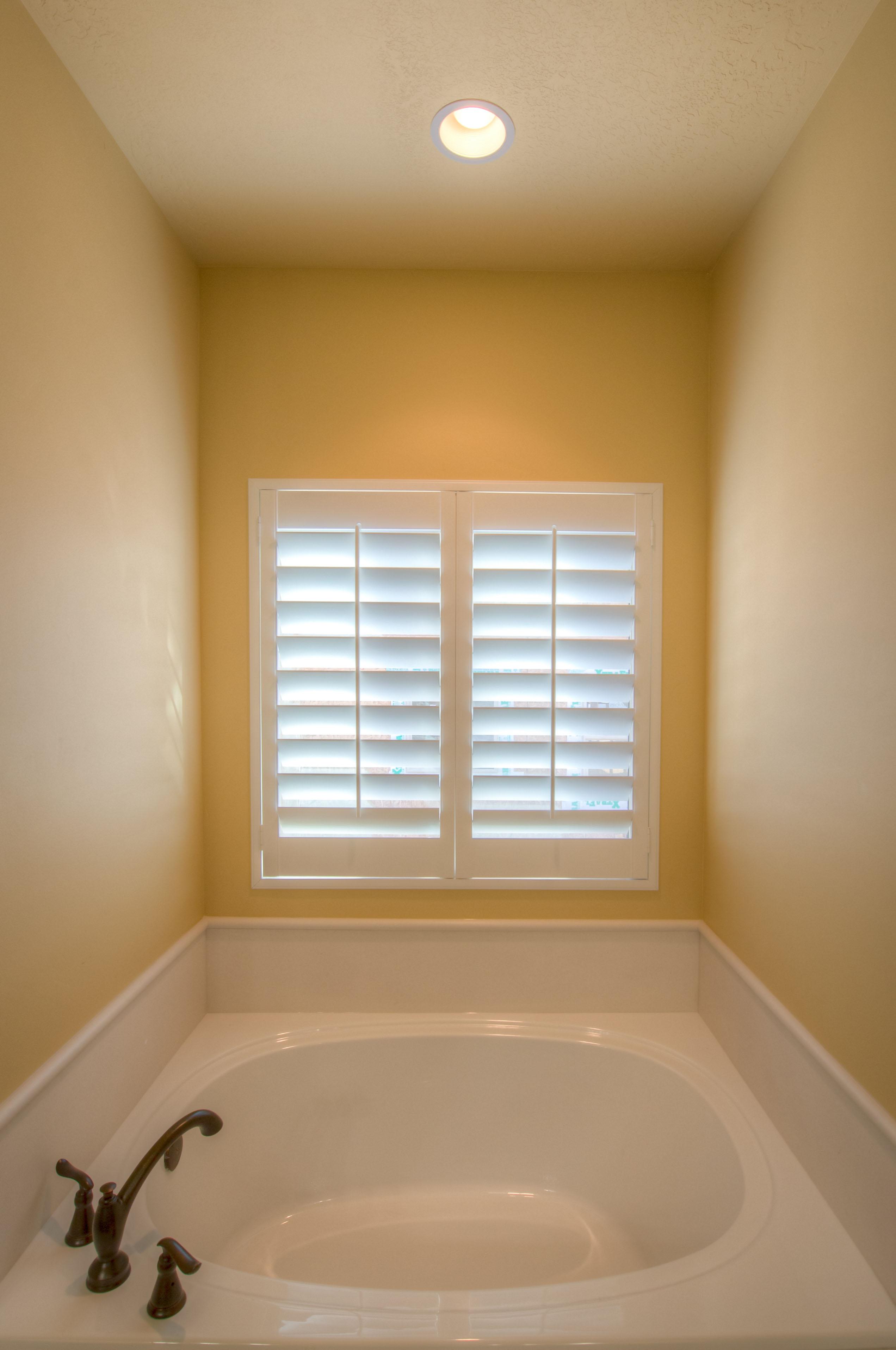 Shutters For Master Bathroom Window
