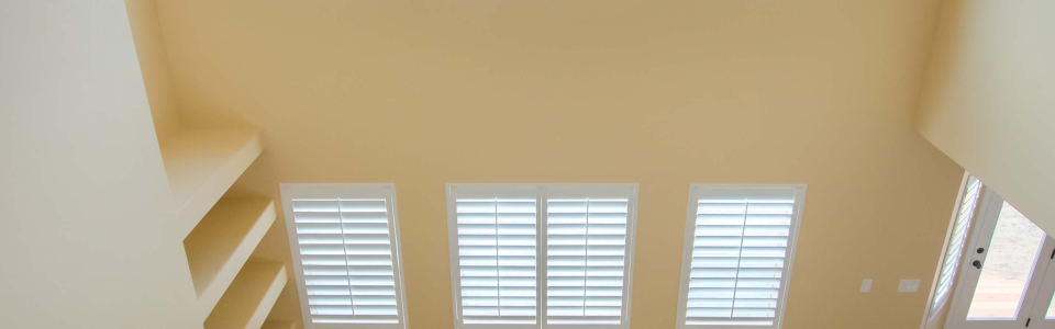 Vaulted Ceiling Shutters From Above