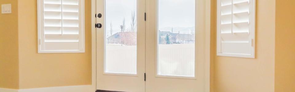 Dining Room Window Shutters