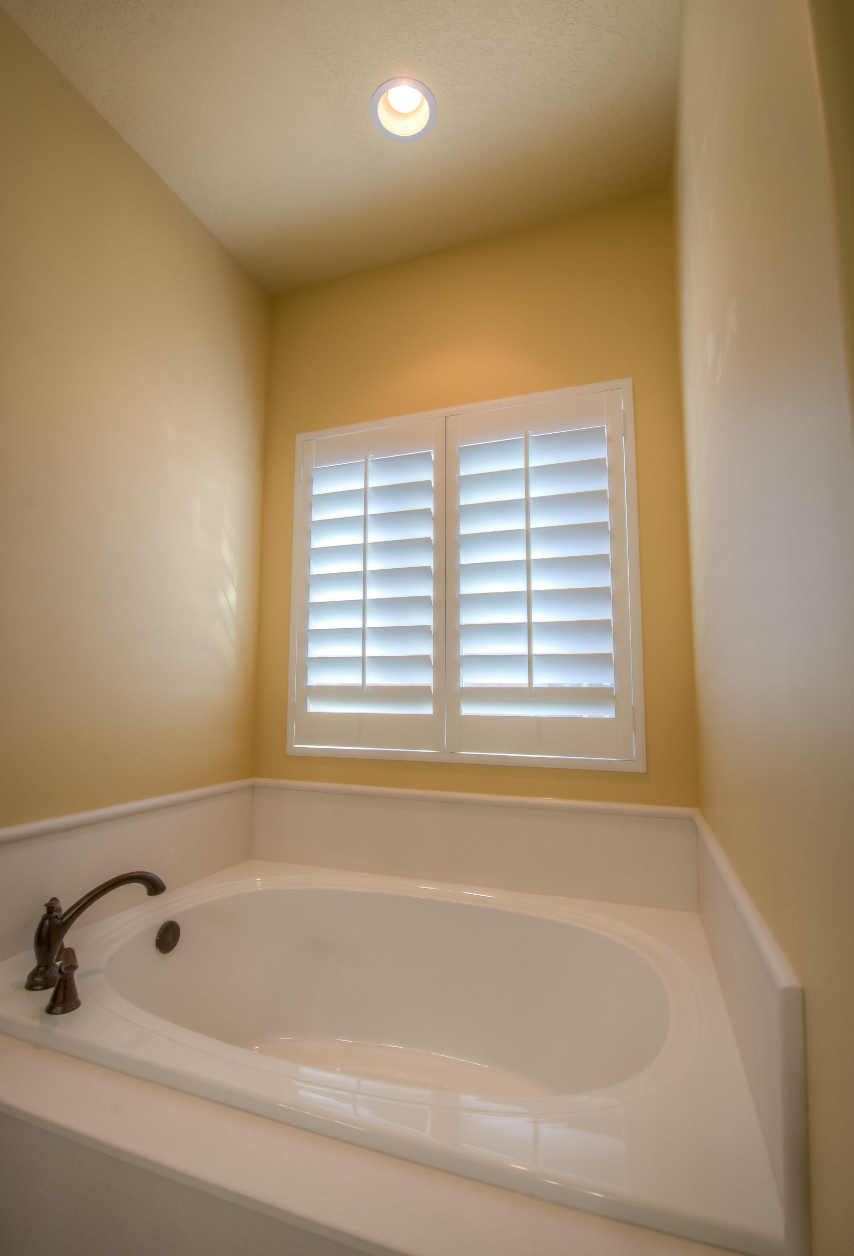 Bathtub Window Shutters
